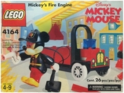 Lego 4164 Disney Mickey's Fire Engine Set