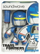 Transformers Mighty Muggs Soundwave Figure