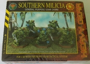 Heavy Gear Southern Milicia General Purpose Gear Cadre Miniature Set