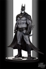 DC Direct Batman Black & White Arkham Asylum Statue