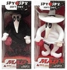 DC Direct MAD Magazine Spy vs Spy Plush Set