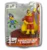 McFarlane The Simpsons Radioactive Man and Fallout Boy Figures