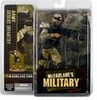 McFarlane Military Debut Army Desert Infantry African American Figure