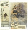 McFarlane Military Redeployed Army Desert Infantry Caucasian Figure