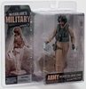 McFarlane Military Army Helicopter Crew Chief Female Caucasian Figure