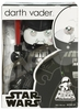 Star Wars Mighty Muggs Darth Vader with Removable Face Plate Figure