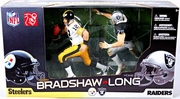 McFarlane NFL Terry Bradshaw vs Howie Long Figure Box Set