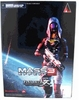 Mass Effect 3 Play Arts Kai Tali'zora vas Normandy Figure
