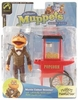 The Muppet Show Series 8 Movie Usher Scooter Action Figure