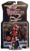 Toy Biz Resident Evil 2 Claire Redfield and Zombie Cop Figure Set