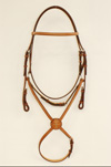 Edgewood Fancy Figure 8 Padded Jumper Bridle 5/8""