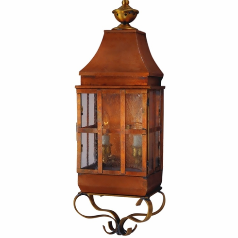 Weston Wall Sconce Style Copper Lantern