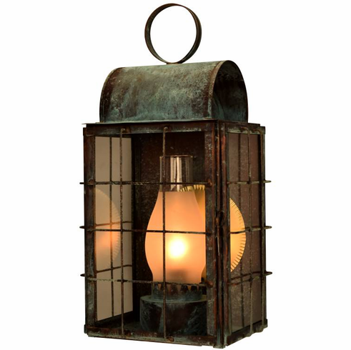 Newport Harbor Wall Sconce Outdoor Copper Lantern