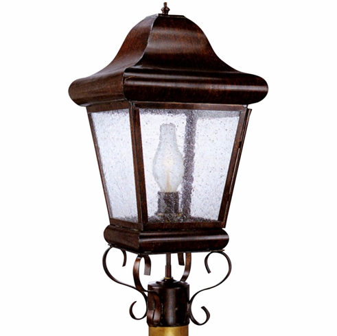 Belmont Post Light Outdoor Copper Lantern