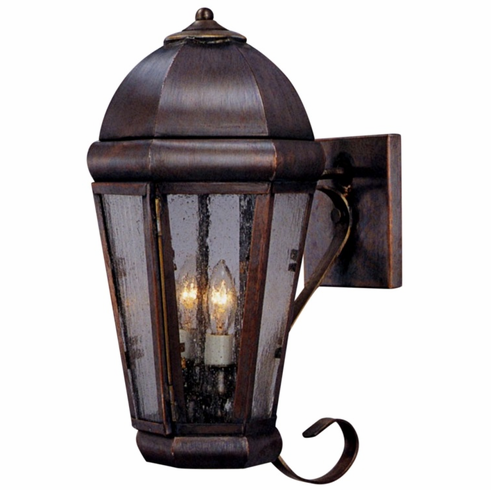 Capital Copper Lantern Outdoor Wall Light