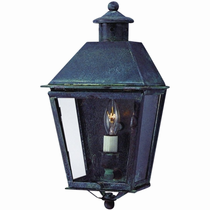 Banford Copper Lantern Outdoor Lighting Collection