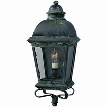 Milford Copper Lantern Outdoor Lighting Collection