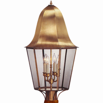 Waylon Copper Lantern Outdoor Lighting Collection