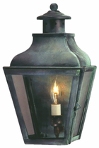 Portland Wall Sconce Copper Lantern