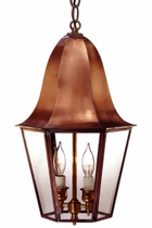 Waylon Pendant Copper Lantern Hanging Light