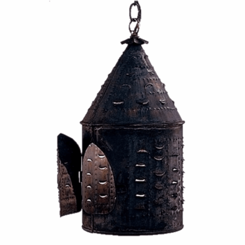 Colonial New England Birdhouse Hanging Lantern