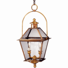 Carolina Colonial Hanging Copper Lantern with Bail