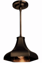 Gatsby Pendant Hanging Copper Barn Light