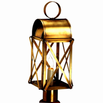 Bunker Hill Colonial Post Light Copper Lantern