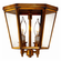Annapolis Colonial Flush Mount Ceiling Light