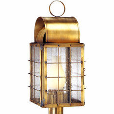 Newport Harbor Post Light Nautical Copper Lantern