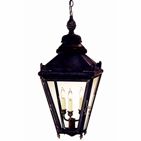 Hampton Pendant Hanging Copper Lantern