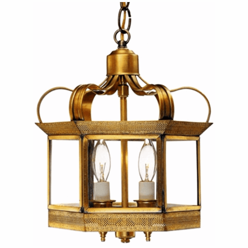 Princeton Pendant Copper Lantern Hanging Light