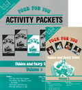 Four for You! Volume 3 Set, DVD & Activity Packet