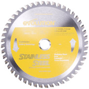 """Evolution 7"""" Stainless Steel Cutting Blade for EVO180V2 Saw"""