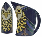 Mara Stoneware 32oz  Curved Pitcher - Owl