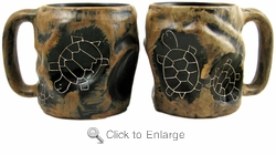 Mara Mug - Rock Art - Turtle 20oz