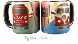 Mara Mug - Love Bus 16oz-Out of Stock Until 09-15-2020