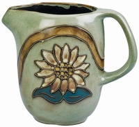 Mara Stoneware 48oz  Serving Pitcher - Sunflower