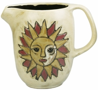 Mara Stoneware 48oz  Serving Pitcher - Suns