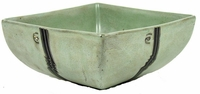 "Mara Stoneware 10"" Large Square Bowl - Profiles"