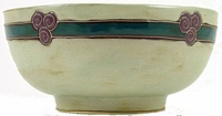 Mara Stoneware 72oz Serving Bowl - Antique Green