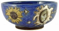Mara Stoneware 72oz Serving Bowl - Celestial - Blue