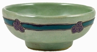 Mara Stoneware 24oz Serving Bowl - Antique Green