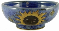 Mara Stoneware 24oz Serving Bowl - Celestial