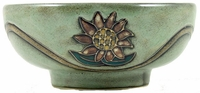 Mara Stoneware 24oz Serving Bowl - Sunflowers