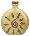 Mara Stoneware 20oz Round Decanter - Sunburst