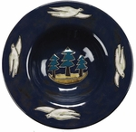 "Mara Stoneware 12"" Pasta Plate - Animals/Birds"