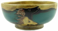 Mara Stoneware 72oz Serving Bowl - Horses