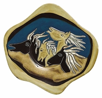 Mara Stoneware Dinnerware - Horses - Individual & Complement Pieces
