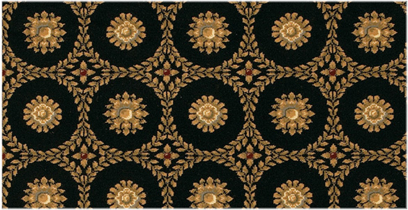ROYAL MEDALLION COLOR: BLACK